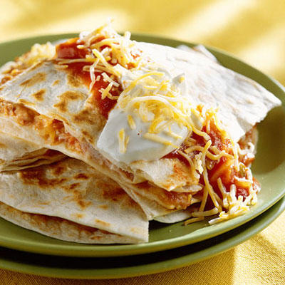 Quick fix mexican food recipes southern living easy microwave quesadillas forumfinder Images