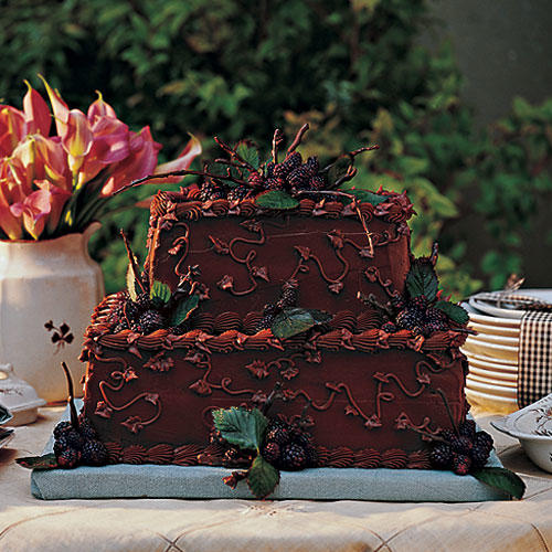 Chocolate Velvet Groom's Cake