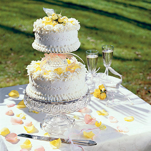 how to make your own square wedding cake stand how to make your own wedding cake southern living 16075