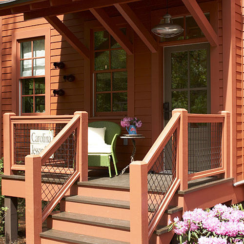 Front Porch of Camp Callaway Cottage
