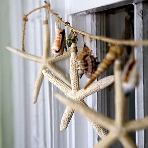 Beach Home Decorating: Create a Pretty Garland