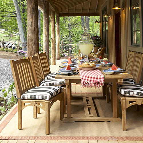Bright Outdoor Dining Ideas Southern Living