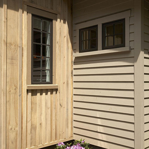 Natural Wood Siding