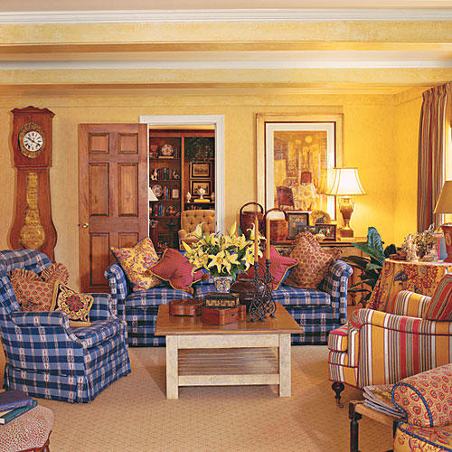 southern living family rooms living room ideas southern living 15878