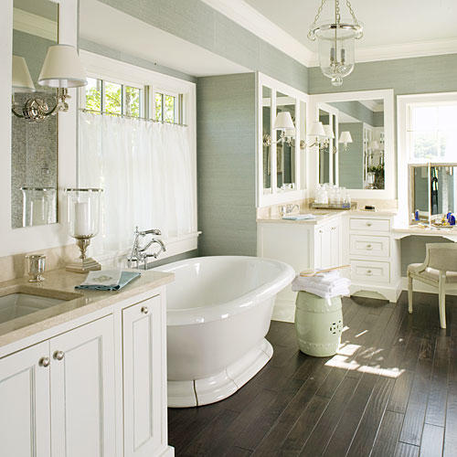 Interior Master Bathrooms luxurious master bathroom design ideas southern living polished bath