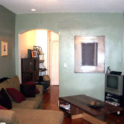 Big City Apartment, Small Town Budget (before)