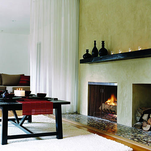 Chic Fireplace (after)