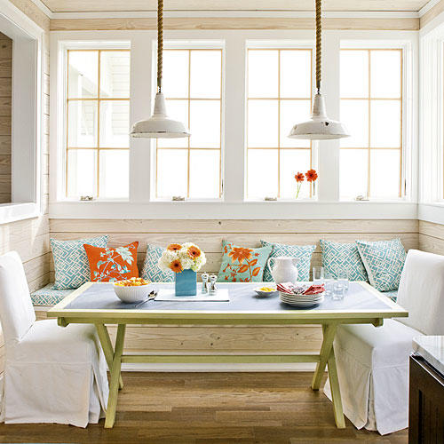 Playful Breakfast Nook