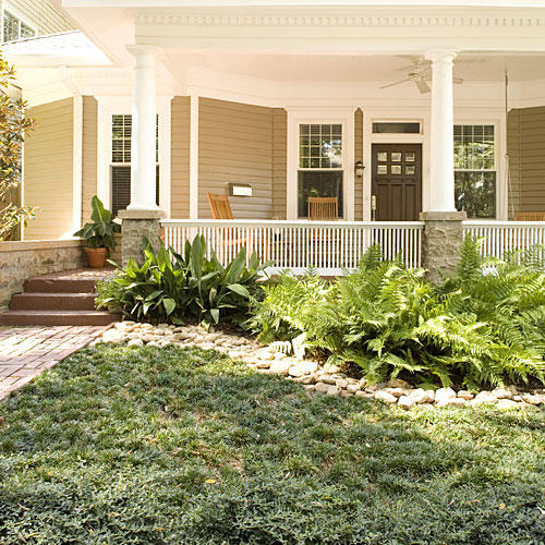 Easy No Mow Lawns Southern Living - Backyard ideas without grass cool photograph
