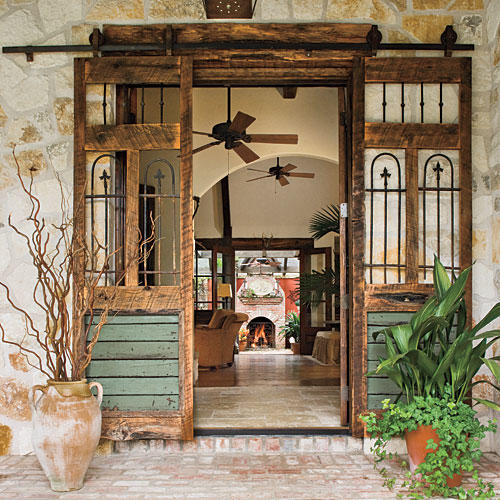 Reclaimed Porch Doors & Porch and Patio Design Inspiration - Southern Living Pezcame.Com