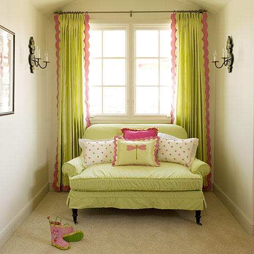 Colorful Window Treatments