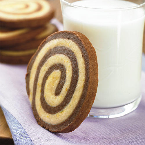 Best Cookies Recipes: Chocolate-Orange Swirls Recipes