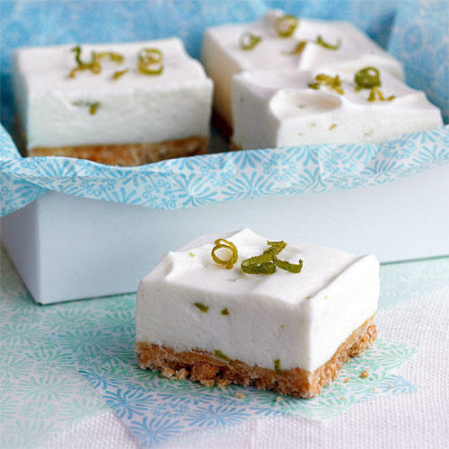 Key Lime Bars with Macadamia Crust
