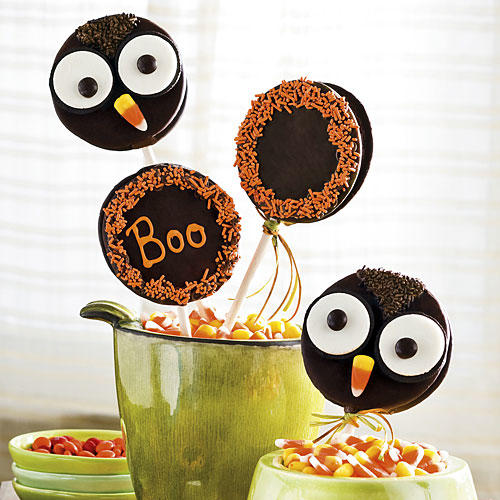 Halloween Desserts Recipes: Easy Owl MoonPie Treats
