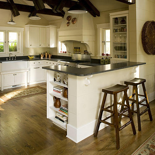 wood cottage kitchen kitchen inspiration southern living