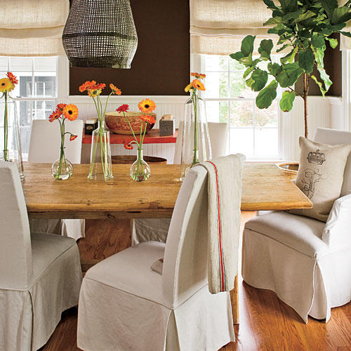 Go Neutral Stylish Dining Room Decorating Ideas  Southern Living