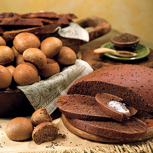 Muffins and Bread Recipes: Pumpernickel Bread