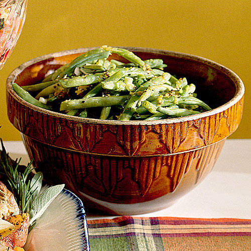 Thanksgiving Dinner Side Dishes: Lemony Green Beans