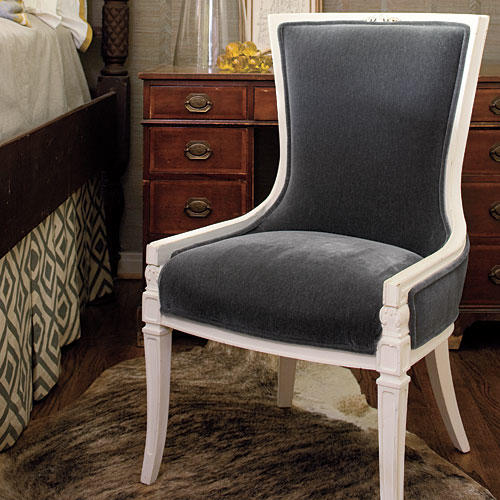 Guest Bedroom Makeovers: Antique Chair After