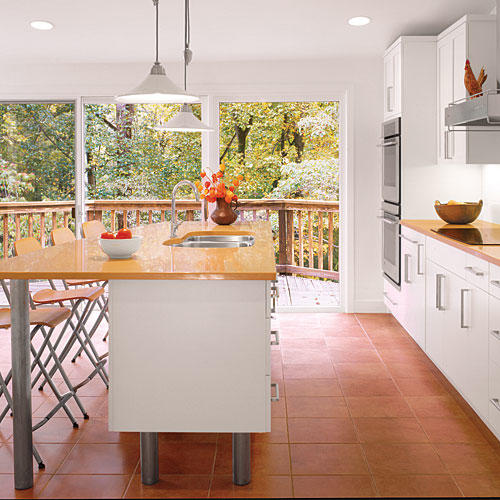 Contemporary White Kitchen kitchen inspiration - southern living