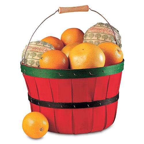 Christmas Gift Ideas: Citrus Half-Bushel Basket