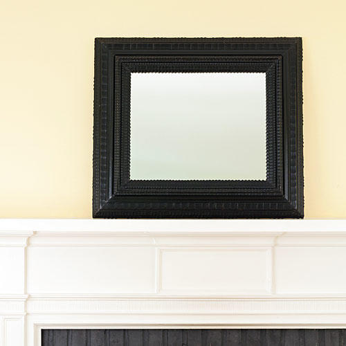 Easy Christmas Mantels: Start by Clearing Your Mantel