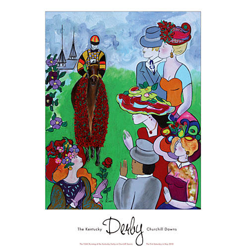Southern Christmas Vacations: Kentucky Derby 2010 Posters