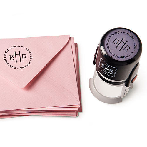 Gift Ideas for Her: Southern-made Goods for the New Year: Personalized Self-Inking Stamp