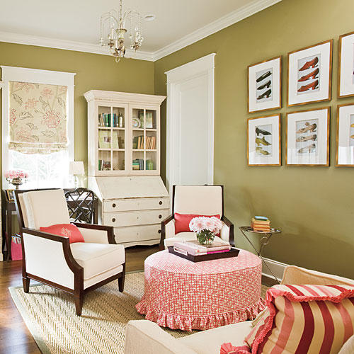 Southern Living Living Rooms: Southern Home Decorating Ideas