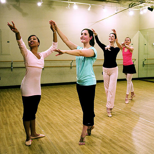 Fitness Dance Classes: Ballet