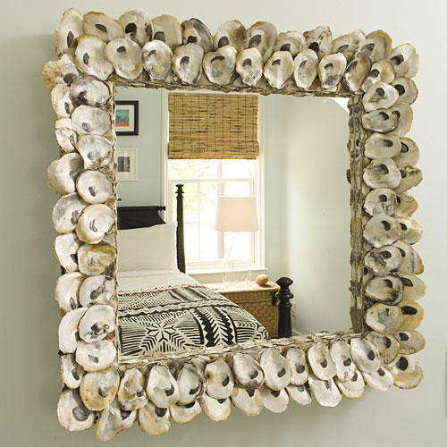 Beach Home Decorating: Transform a Mirror