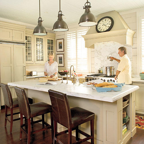 Beach inspired kitchen ideas southern living for Nautical kitchen designs
