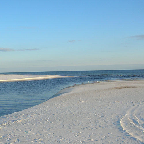 Secluded Southern Beach Vacations: Camp Helen State Park