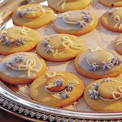 Wedding Shower Recipe Ideas: Hat Cookies