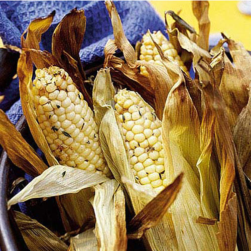 Vegetarian Grilling Recipes: Smoked Corn