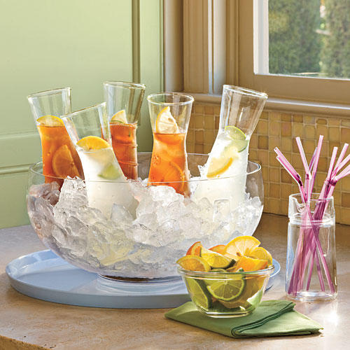 Wedding Bridal Shower Ideas: Beverage Bar