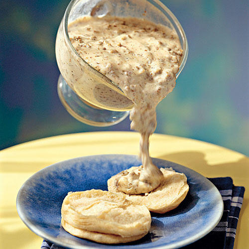 Father's Day Brunch Recipe Ideas: Sausage Gravy