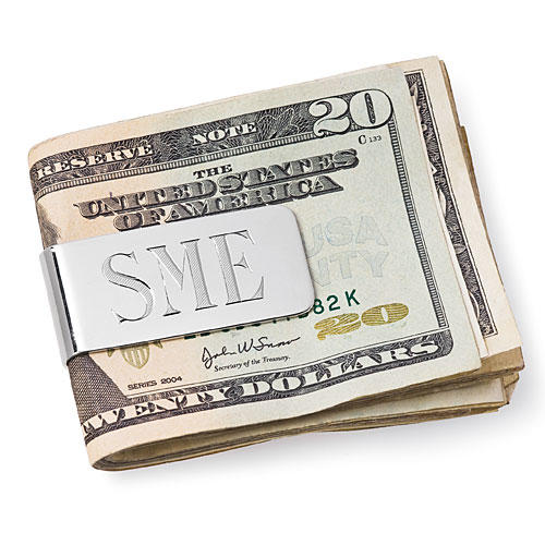 Summer Style Gifts: For Him: Large Money Clip