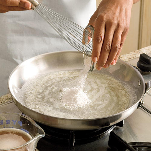 Step 1: Butter and Flour