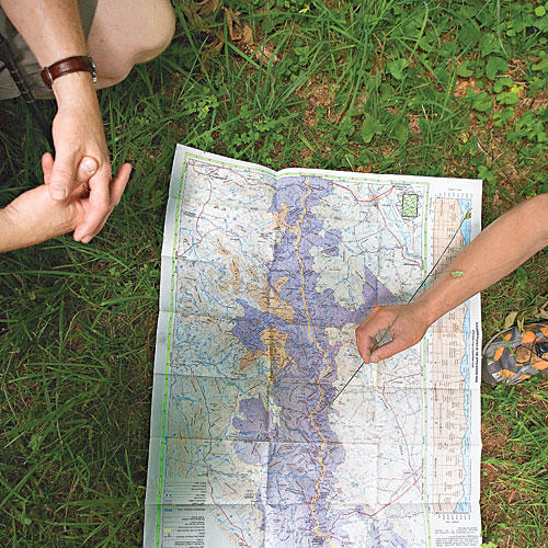 Shenandoah National Park Hiking and Cabins: Picnic Places