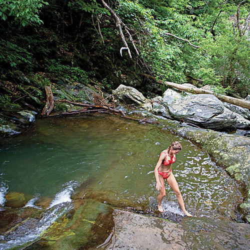 Shenandoah National Park Hiking and Cabins: Swimming Hole