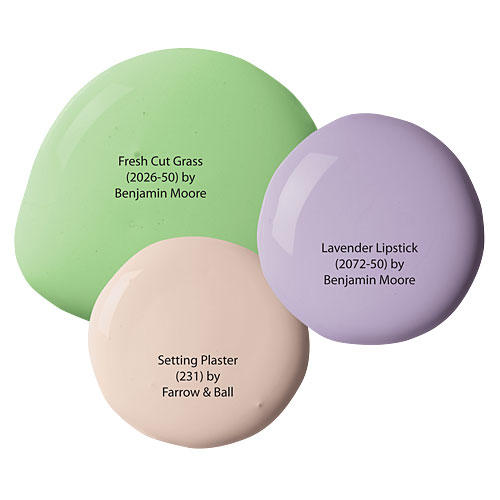 Luminous Paint Colors