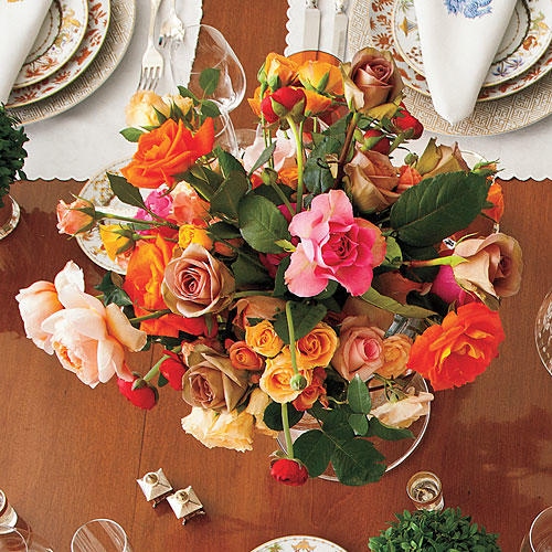 Arrange Seasonal Flowers
