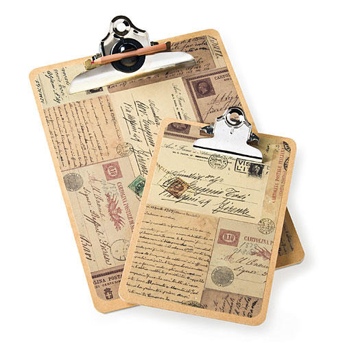 Postcard Clipboards