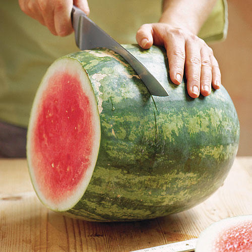 Water Melon Recipe: Step 1