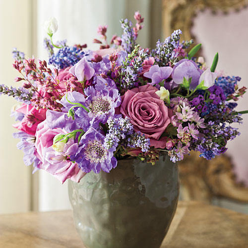 Arrange a Lush Centerpiece