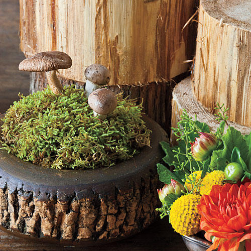 Stack a Multilevel Centerpiece