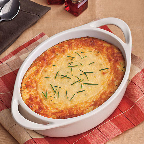 Southern Living Recipe: Parmesan Corn Pudding