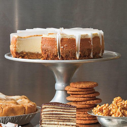 Pecan-Crusted Cheesecake