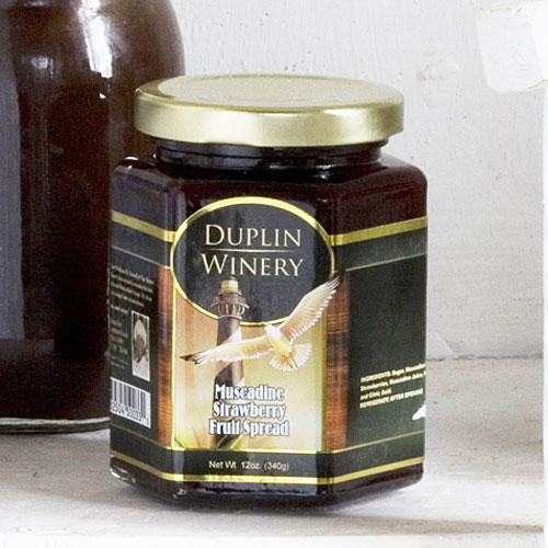 Muscadine Strawberry Fruit Spread